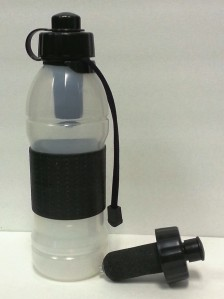 sports bottle white background
